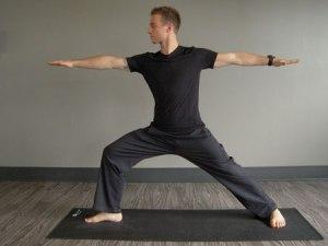 Warrior II credit: CorePower Yoga